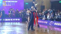 2019中国体育舞蹈公开赛总决赛-职业组拉丁舞季军 文智&童瑶-斗牛
