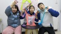 3个学生玩无硼砂泥,家长打电话查岗,学生的应对方式真逗