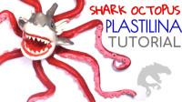 手办:用软泥打造一个八爪狂鲨,你喜欢吗?