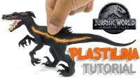 手办:用软泥打造一个侏罗纪世界暴虐迅猛龙!