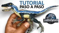 手办:用软泥捏造侏罗纪世界恐龙,你能叫出名字吗?