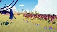 大海解说全面战争模拟器:300名原始人能否战胜镰刀死神?籽岷小本解说五歌大橙子