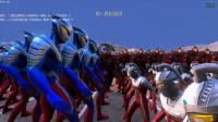 大海解说史诗战争模拟器:1000个赛文、赛罗奥特曼联手VS2千个贝利亚籽岷小本