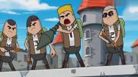 搞笑吃鸡动画:霸哥四人被RPG一发入魂,谁也没想到她竟是公主?