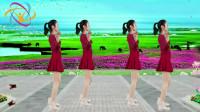 广场舞《又见山里红》节奏欢快,美女靓丽极了!