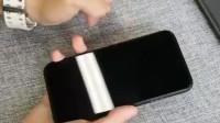 用了很多的手机膜,还是这个方便,透明清晰的还原手机的原色