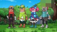 萌妹四人组和四胞胎联手对抗恶龙队,谁料霸哥想渔翁得利却被团灭