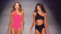 时装秀:2020迈阿密泳装周超模走秀集锦,超模台步洒脱大气,更显气质