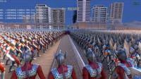 大海解说史诗战争模拟器:2000个诺亚、泰罗、戴拿、赛罗奥特曼展开大混战 籽岷