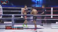 22岁小将扬威擂台,一记后手摆拳,KO对华不败的泰国百胜强者