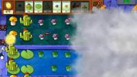 大海解说植物大战僵尸95版:气球、海豚僵尸同时来袭籽岷小本解说五歌大橙子