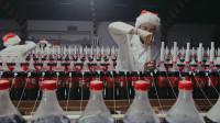 史诗级画面:1000瓶可乐同时加入曼妥思,画面太硬核了!