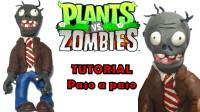 手办:用软泥打造一个植物大战僵尸里的小僵尸,喜欢吗?