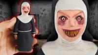 手办:用软泥捏造一个游戏角色修女,你认识吗?
