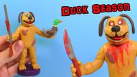 手办:用软泥打造一个猎鸭季节游戏角色,你认识吗?