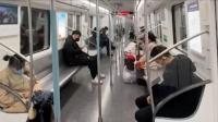 实拍武汉地铁,车厢内加大通风,超九成乘客佩戴口罩