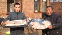 """阿远买了七个猪肚,今儿个做""""罗汉肚"""",成本700多,吃一口心疼"""