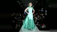 时装秀:修身旗袍款式,让人眼前一亮,惊艳世界的中国元素!