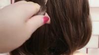 短发女生穿汉服,这样扎感觉美美哒,好看又简单的发型,值得收藏