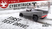 全手工打造特斯拉同款皮卡,可以在雪地正常行驶吗?一起来见识下