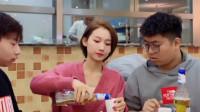 爆笑祝晓晗闺蜜:美女一招教你如何蹭饭,这脑子也是太厉害了,网友:就你优秀
