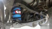 丰田普拉多改装空气悬架,看看车到底有多稳!