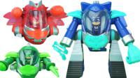 睡衣小英雄巨型机甲变身玩具