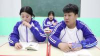 学霸王小九:老师让学生带取暖工具,没想女同学直接把家里空调搬来了,太逗了