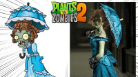 Pvz 游戏中的僵尸vs现实中的僵尸