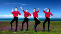 健身操《铃儿响叮当》欢快俏皮广场舞,送给您欣赏!