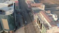 新型冠状病毒肺炎高发期,山西东北部小城大年初一繁华街道很冷清