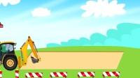 最新挖掘机视频表演205大卡车运输挖土机 挖机工作 工程车 车辆用工程机械