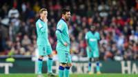 西甲-特狮扑点难救主阿尔巴乌龙 巴萨客场0-2不敌瓦伦西亚