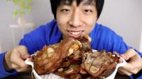 试吃米其林厨师制作的速食烤牛腿,烤20分钟就能吃,真的好吃吗?