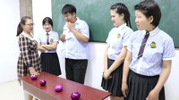 学霸王小九短剧:老师让学生挑战吃洋葱,全班都难以下咽,没想女同学一口气吃一个