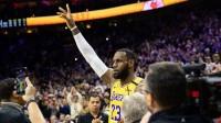 超越科比成为历史得分榜第三,恭喜詹皇完成又一神迹 NBA 19/20赛季 常规赛 洛杉矶湖人VS费城76人 22