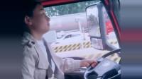 女司机高速刷卡果然有一套,看这各种技术,驾龄起码有3年