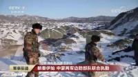新春伊始,中蒙两军边防部队联合执勤