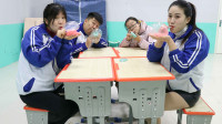学霸王小九短剧:无硼砂泥玩出新花样,同学们比赛用泥吹泡泡,这种玩法你见过吗?