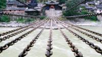 泸定桥铁索重达40多吨,300年前古人怎么将其架起来?看完很佩服