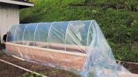简易DIY小型温室蔬菜棚
