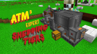 我的世界《All the mods 3 专家版 Ep21 危险机械》Minecraft多模组生存实况视频 安逸菌解说