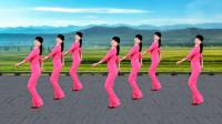 广场舞《拥抱你的离去》动感的32步,歌嗨舞也乐,分享给你