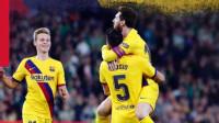 西甲-梅西助攻帽子戏法德容破门,巴萨3-2逆转贝蒂斯