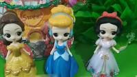 公主们都有棒棒糖,贝儿和长发都要和白雪换棒棒糖,白雪要不要和她们换呢?