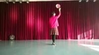 模特教学:身韵集合(道具伞、玫瑰花、团扇)(谷爱玲老师主讲,模特班阿珍班长)