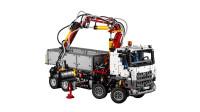 LEGO乐高积木玩具科技机械组系列42043奔驰重型卡车套装速拼
