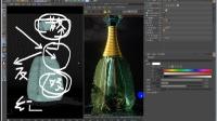 【C4D教程】平面电商香水瓶产品表现案例 03.mp4