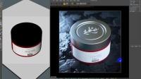 【C4D教程】眼霜护肤品产品包装电商海报制作 01.mp4