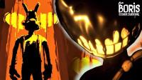 鲍里斯的黑暗生存:在黑暗矿井里躲避墨汁恶魔,寻找逃生的道具